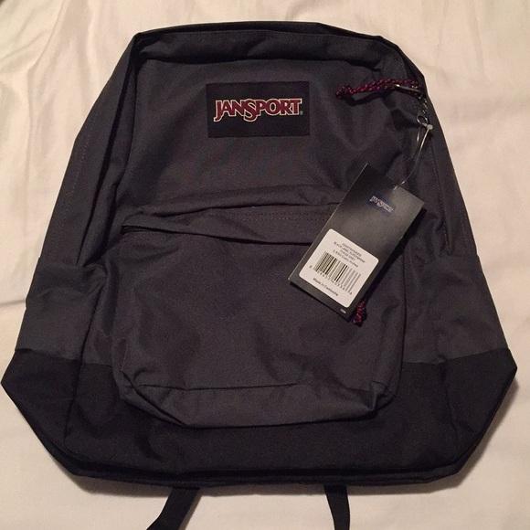 5052cb26233 Jansport Bags | Blacklabel Superbreak Forge Grey | Poshmark